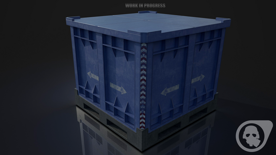 Pushable crate made for Operation: BlackMesa