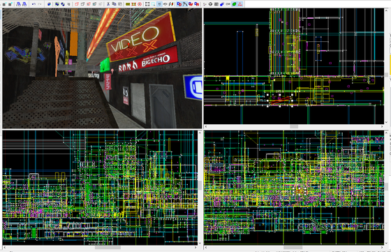 Working on a great big Cyberpunk RP Map in Hammer, going on 72ish weeks!
