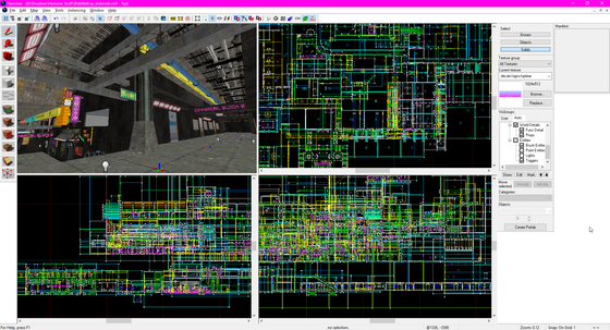 """Commercial Block 2 is part way to being finished :) This is week 72 of a mapping/modelling/coding project for a CyberpunkRP server, """"Chromed Out 2: Shibuya Meltdown.""""  http://co2sm.community85.com/"""
