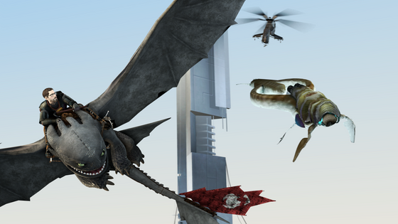 Now, where did Freeman got this flying creature from?