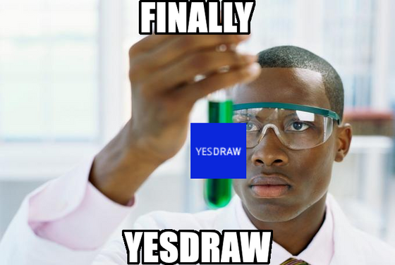 Finally, yesdraw.