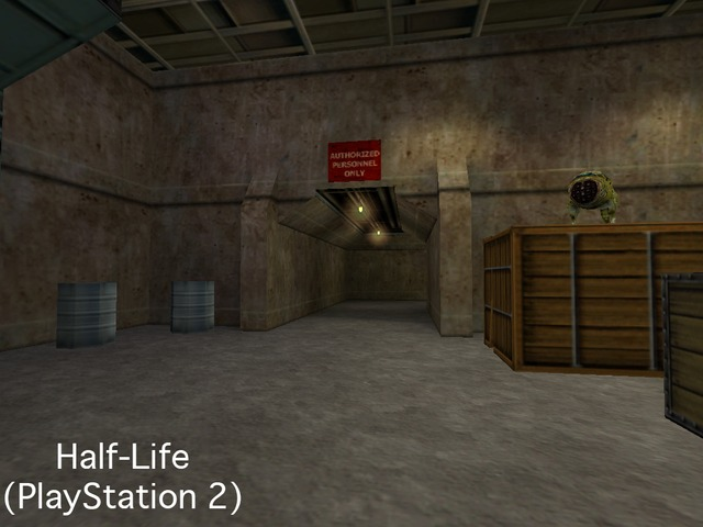 Did you know that the BSPs used for Half-Life are actually not the final versions of the maps made for Half-Life? The final map sources were used for Half-Life (PlayStation 2) and Half-Life: Source. Very minor changes and bug fixes can be found among the Half-Life: Source maps that typically appear in the PS2 port as well.  Additionally, the Baby Headcrab model seen in Half-Life is out of date and the final version can be found in Half-Life (PlayStation 2) and Half-Life: Source.