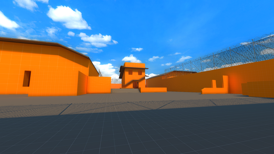 I ported CP_Orange to Black Mesa react with Black Mesa logo if i should detail it in a black mesa style react with a lambda if I should leave it orange