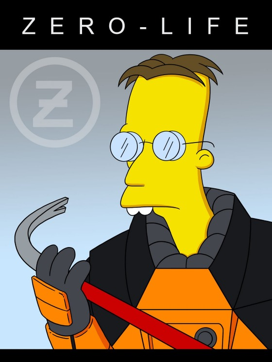 The Prequel to Half Life! Directed by Matt Groening.