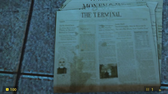 If you look at the bottom left of the newspaper, you can see Dr. Breen's photo (Maybe you knew that maybe not, I apologize if I was wrong with something this is my first post in the lore category).