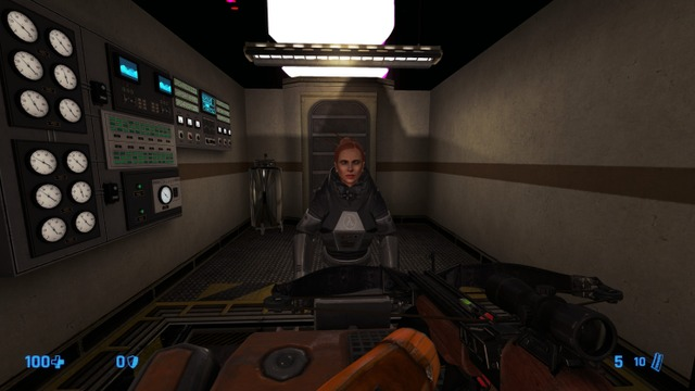 I felt the need to post this for the HECU Collective developers of the Black Mesa Blue Shift remake going forward. I feel it would be awesome if Gina, Gordon, and Otis got some custom models going forward, given how popular they are in the community. I understand most of them are only seen from a security camera from far away, but details like this sets you apart from others. Plus, you got competition from Tripmine, so give em a run for their money!