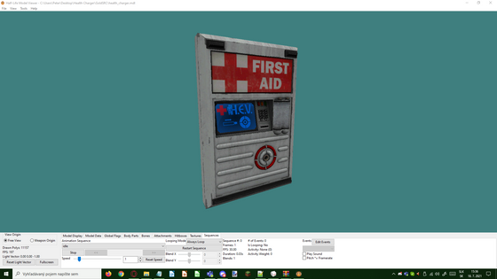 Noone can stop me! I'll keep porting until the models are broken. Sadly, this one is, because the animation on this one is broken. I would probably release my work if enough people would want