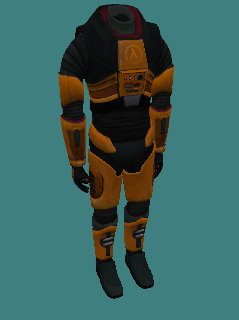 I'm not joking, this model has 8 references and over 20K polygons. Also I want to give a credit to my friend Almix for giving me the models, because I don't have Black Mesa (plz don't hate me) so without him, I wouldn't have these models so big thanks goes to Almix