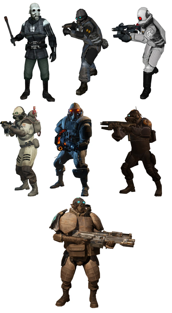 POLL: What's your favorite Overwatch Unit in the Half Life series? https://www.strawpoll.me/45505464  All the Combine units are really cool imo so I'd love to hear your personal reasonings as to why that combine is your favorite in the comments!