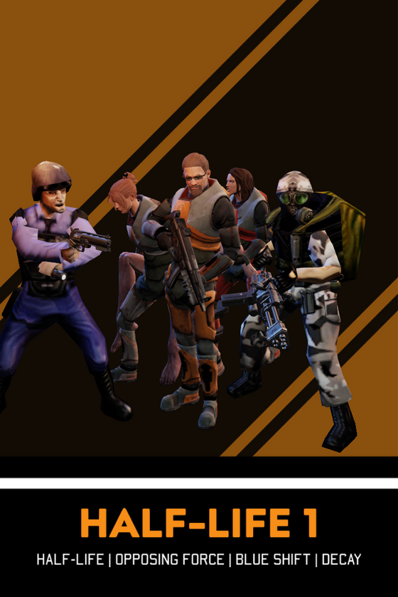 I was just playing XCOM2 and decided to make some HL1 characters.