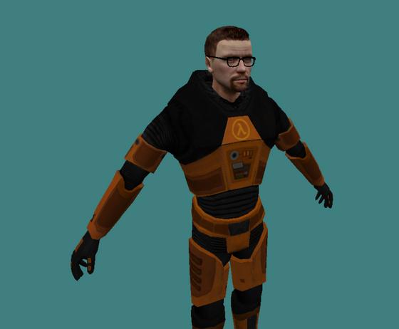 Cooler! You madlad! You can't just port Black Mesa Gordon To GoldSR- Haha, Freeman go BRRRRRRRRRR-