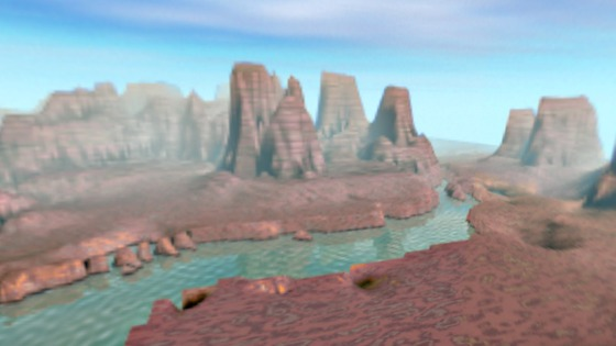 The Black Mesa desert