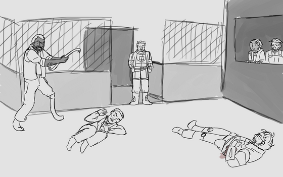 | The start of Half Life 3 gonna be like- |  Anyone still find it weird there's no mention of Barney anywhere at the end on Ep 2? What has he been doing...