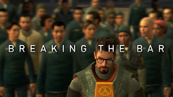 #BreakingTheBar - Update!  After consulting with all parties/YouTubers involved, the time has been decided. We (YTers) will start streaming Half-Life 2 at 15:00 GMT (3:00 PM GMT) on August 14th.  You can help us break the all-time peak record by playing Half-Life 2 yourself as well. Or atleast, have it running on Steam while you watch any of the streams happening.  If you're unable to join at 15:00 GMT, you can still help by playing Half-Life 2 any time on August 14th.