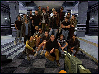 Sometime after the events of E3 1998, Valve Software decided it would be wise to showcase the progress of Half-Life to more individuals. The team had a meeting later that week and decided the best place to show Half-Life next is to those at the Black Mesa facility. After a few weeks of endless meetings and strings being pulled, Gabe Newell managed to arrange 5 of the best engineers at Microsoft to create a device that could teleport the Valve team into the world of their in-development game.  Once teleported in, they were faced against the daunting reality; getting out alive. The team were greeted face to face with the game's protagonist: Gordon Freeman, and like most things Gordon encountered he knew what he must do: Kill Valve Software.  Most of the Valve team would make it out alive, but at that moment they knew they needed to start making major changes to the game. This is when Half-Life started to become what we know it as today.