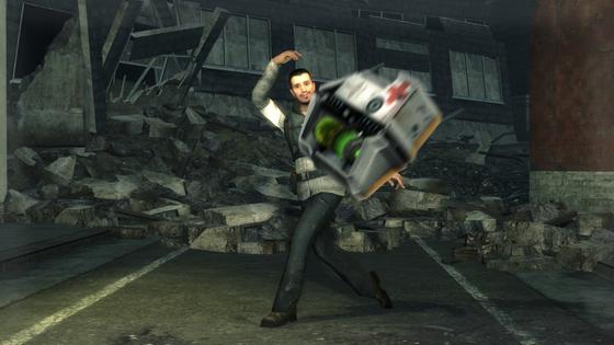 Hey Freeman! Take this medkit!