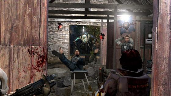 Outlands rebel base gets raided! (Gmod)