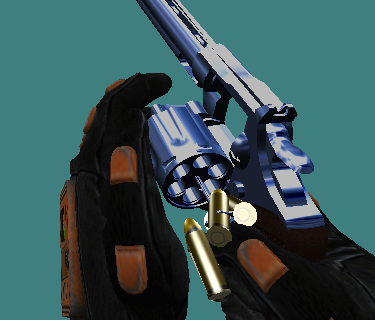 """So this is the progress of the revolver. You can also see """"de reflectionz"""" that looks cool, I guess? 😉"""