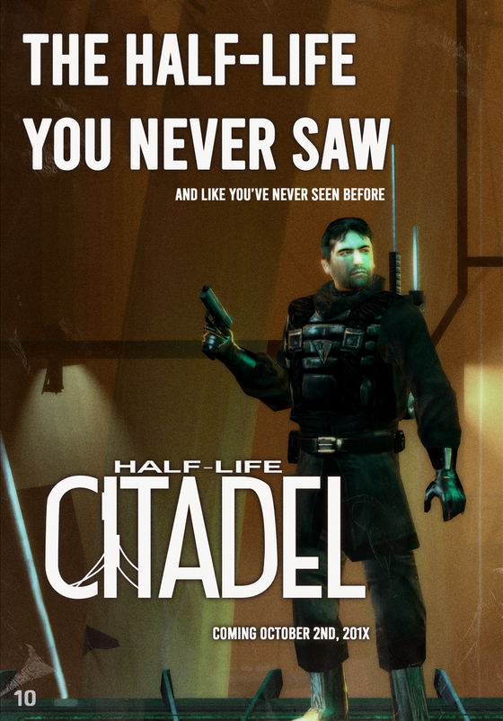 Half-Life Citadel  full page ad - click for higher resolution  Power Source Magazine, Issue 6, May 2011