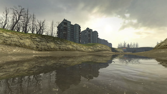 Some photos I took from the Water Hazard chapter in HL2. I love how the time passes from start to finish.