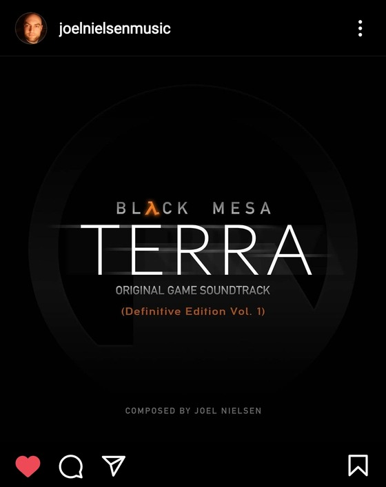 Guys, Joel Nielsen posted teaser for Black Mesa: TERRA Soundtrack. I still don't give a clue about what this means, but I think @BlackMesaDevs have something new prepared for their game. Patiently waiting!