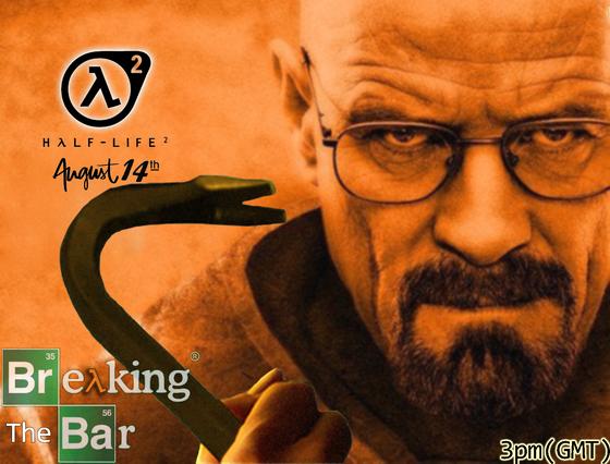 """Heisenberg joins"" #BreakingTheBar"