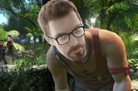 eng: Do you know what madness is? This is when you are rolling around in the same circle again and again: hl - > hl mods - > hl2 - > episodes - > hl2 mods -> Black Mesa... rus: Знаешь что такое безумие?  Это когда тебя снова и снова катает по одному кругу: hl -> hl mods-> hl2 -> эпизоды -> hl2 моды -> Black Mesa #BreakingTheBar