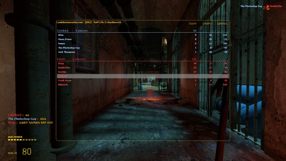 """I proceed to show some HL2:DM screenshots that I took from the #breakingTheBar afterparty (14/08/21). Thanks to all the guys who played on the server (US 2) (part 1/2) """"I hope to do something similar in the future"""""""