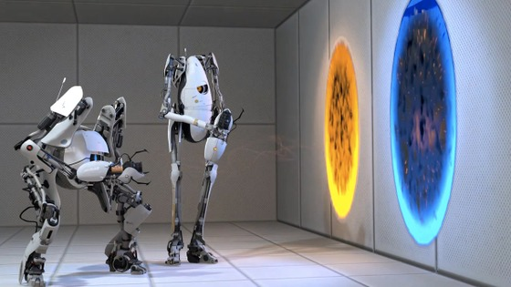 Hey guys! One dude suggested to do the same event as #BreakingTheBar, but in portal 2 and call it #EnteringThePortal. I propose to arrange it on August 20, and before that spread this idea across the community