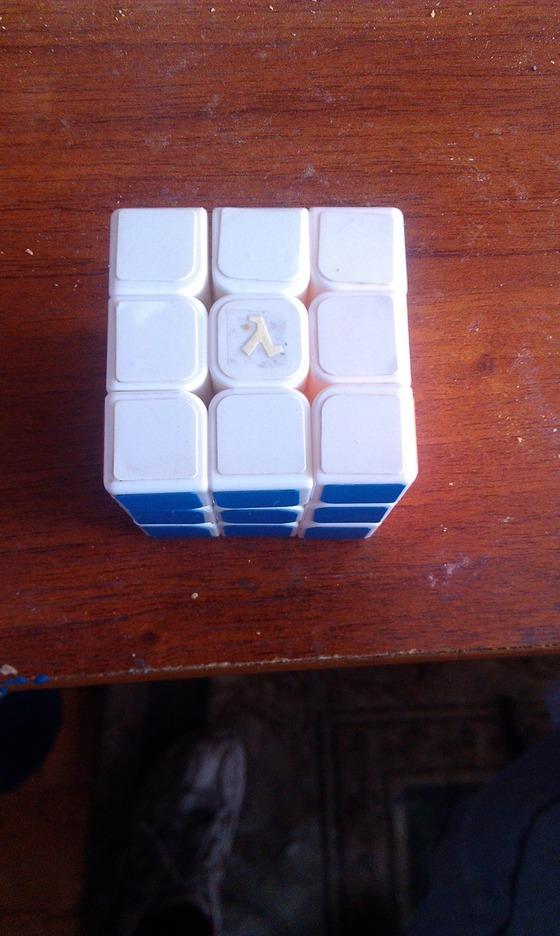 Кубик рубик с логотипом Lambda #lambda #лямбда