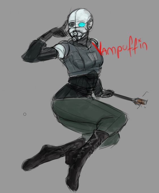 And so ends the series of FemCops so far, this is FemBEC from Entropy Zero Uprising. Unless someone comes up with a soldier Combine protagonist to turn into rule63 this will be the end for now. #entropy_zero #half_life _2 #halflife #entropy_zero_uprising