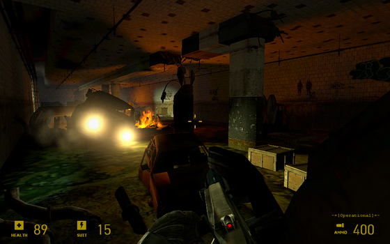 #BreakingTheBar2 Just Playing Half-Life 2 MMOD