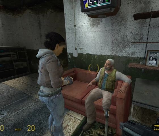"""We got this moment in HL2ep2, where Eli asks Alyx to make him a cup of tea. So, here's the (((stupidest))) question: how is it possible to Resistance to have tea? Is it, like, was made twenty years ago, or do they have their own tea plantation (which is not possible under the Combine pressure), or is it random herbals just making up """"tea""""? Maybe you got some thoughts on this..."""
