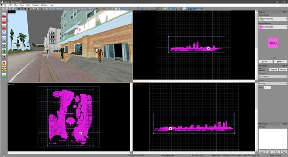 GTA Vice City on Xash engine, 1:1 scale. Map size is 130k units.