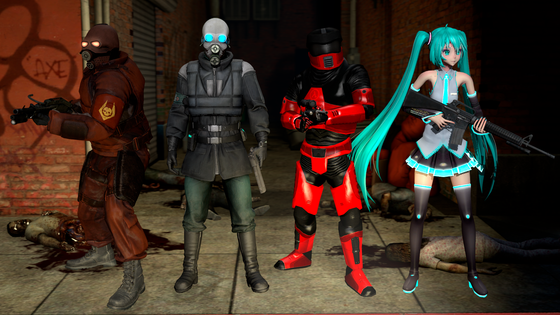 [SFM] Me and the boys going to kill zombies.