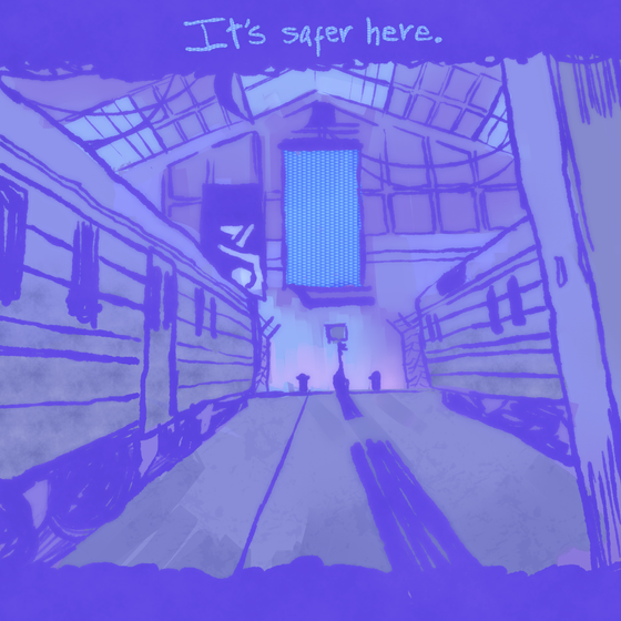#2! im no background artist and thus wasnt going to stake my skills into trying to color city 17, but i hope i did it some justice nonetheless :-]