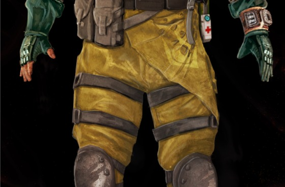 "Rebel survivor, inspired by Half-Life : Alyx hazmat suit.  For the Mod ""Half-Life : Radiated"""