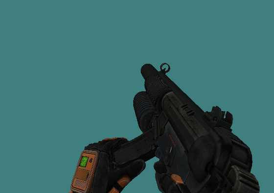 "Finally ""fixed"" the hands, now I can do the MP5 *yaaaaay*"