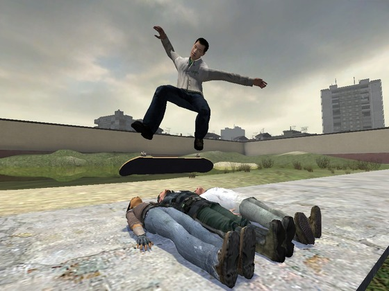 Laszlo really was the finest mind of his generation!   *** Extremely old picture (from 2006) that I happened to find in an forgotten folder filled with similar silly stuff created experimenting with Garry's mod. ***