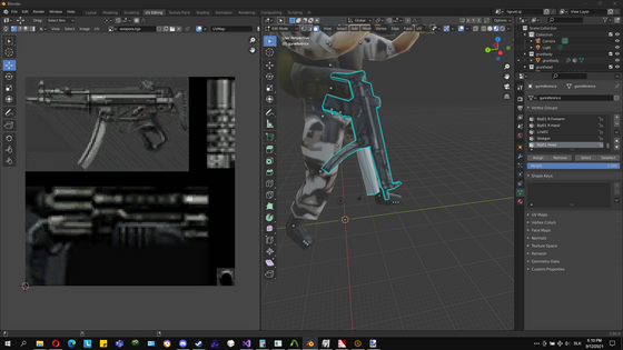 Hey there! Haven't posted in quite the time. Was trying to compile hls source code and did ba_yard4 in the background. Currently UV mapping this hgrunt! I'll post again soon.