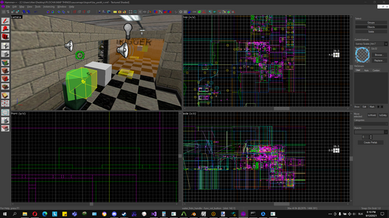 Just as I said , posting another post! Hgrunt mapped, made some progress again on ba_yard4 (the window break sequence now works). So have some screenshots.