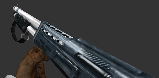 Same Half-Life: Particle Fusion shotgun from before but with some minor tweaks to make it look a bit better. Also adjusted FOV for widescreen in this shot.