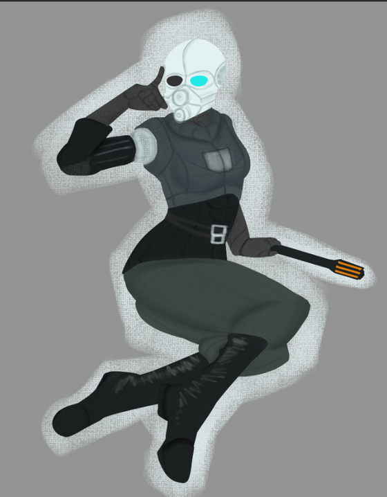 Made the FemBEC into a simplified version so Employee and the guys at EZU can use it as an easter egg grafitti.    What's the next thing I should draw?