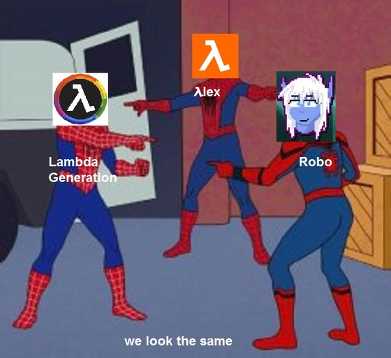 i made an Meme #λlex #Robo #LambdaGeneration