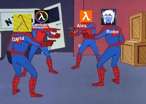 and some another Meme i made #λlex #LambdaGeneration #Robo #Dλvid