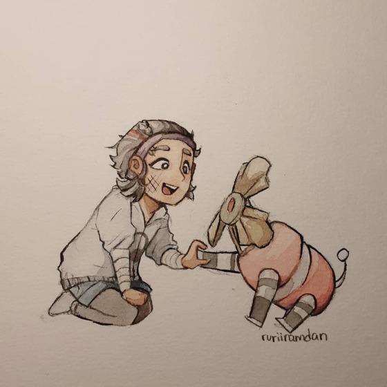 Dog and Alyx :)