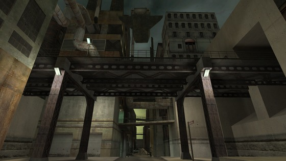 The most iconic map of all of Half Life 2 beta.