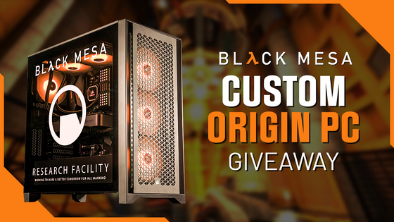 Suit up scientists, for the update of a lifetime!   With a brand new patch, Black Mesa custom PC giveaway with Origin PC, and a 75% Steam discount till September 20th, this is a memo to remember:  https://bit.ly/3AeWPKQ  Note: The update will break your saves. You may have to start the chapter again or continue by loading a map.