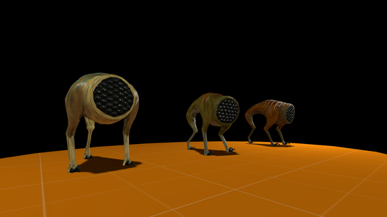 """A preview of the new houndeye model for the mod """"Build: 2003"""". Model made by Agente P New models and enemies coming soon."""