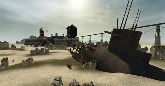 The Wasteland.